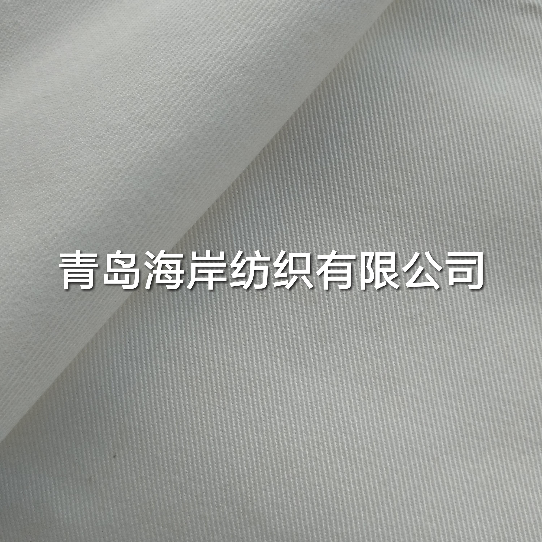 涤棉纱卡斜纹坯布T/C90/10 21X21 108X58 63工作服面料