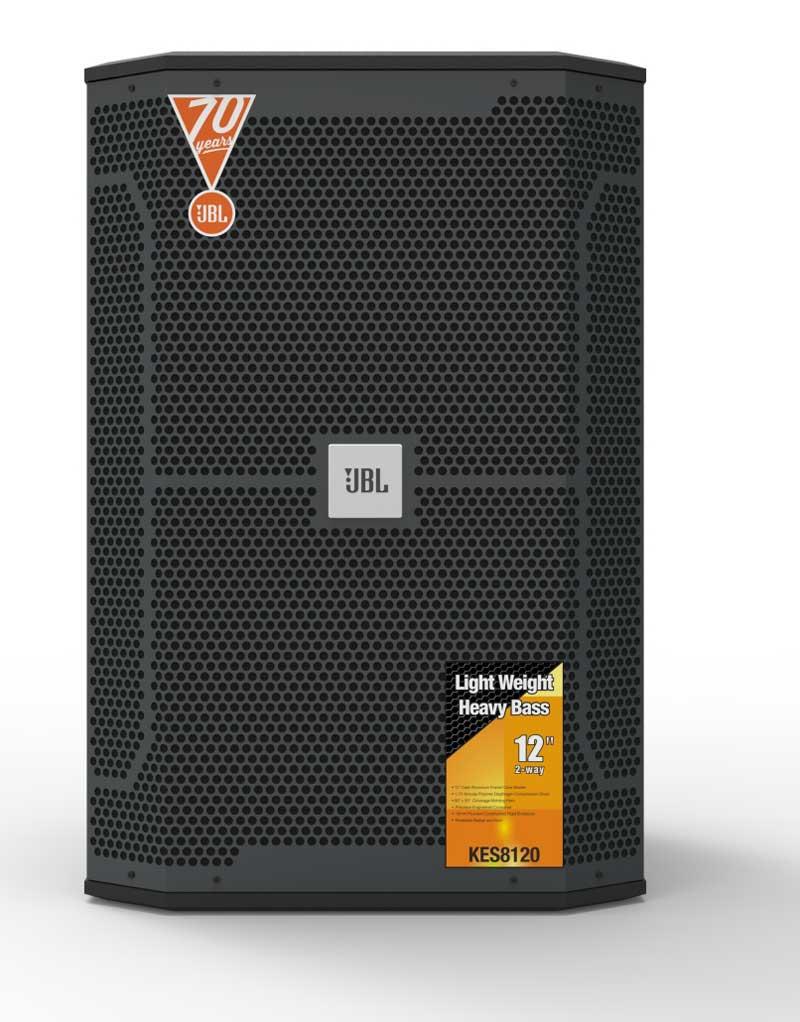 JBL KES8120 KTV音箱 12寸卡拉OK音箱 12寸KTV音响 酒吧音响设备音箱 专业K歌音箱音响 专业娱乐