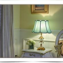 床头灯  卧室水晶台灯 复古水晶台灯 欧式复古水晶台灯 高档水晶台灯