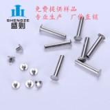 不锈钢铆钉 GB873扁圆头铆钉 不锈钢铆钉 GB873半空心铆钉