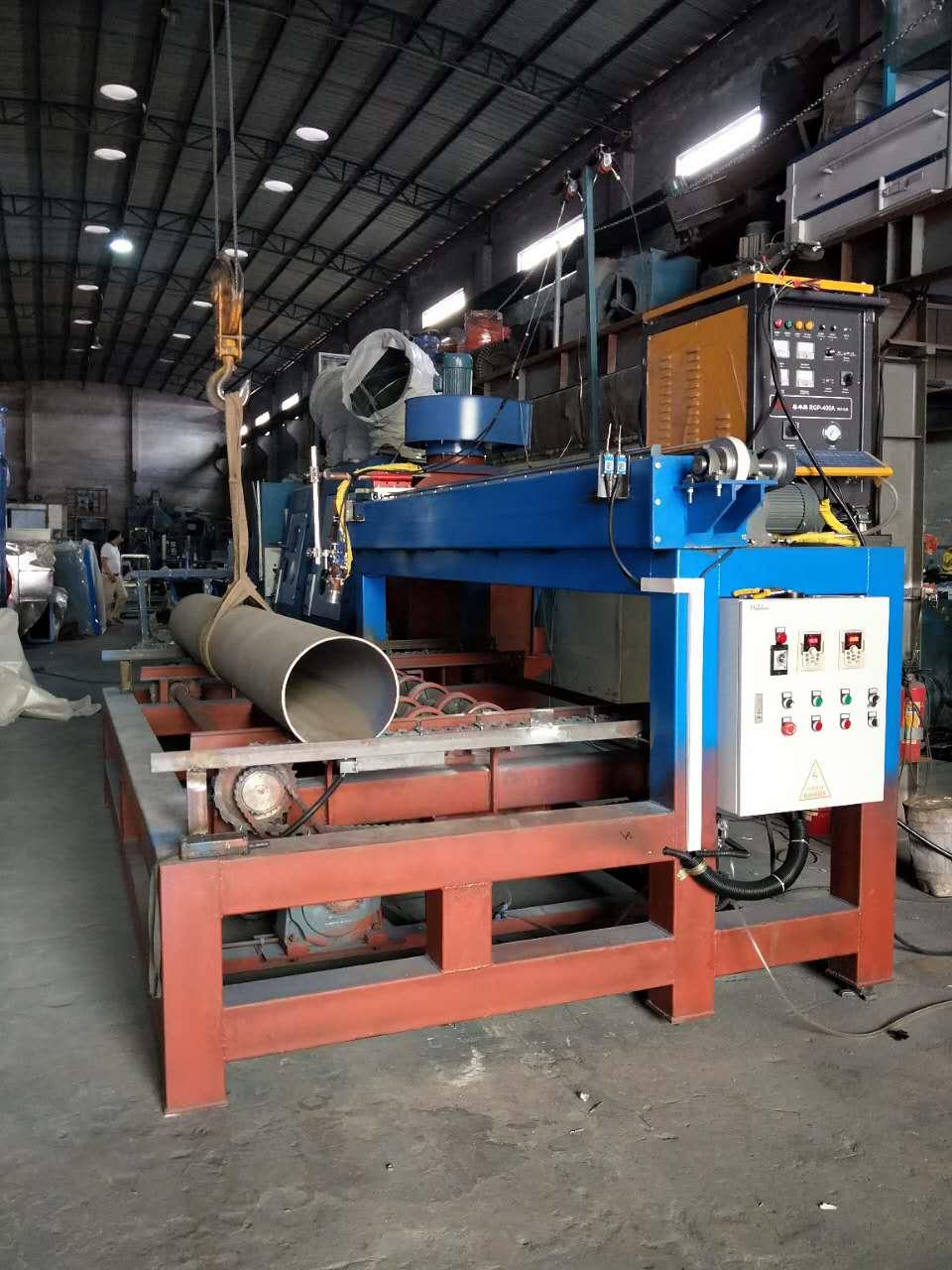 佛山电弧自动热喷涂设备  重防腐钢结构涂装设备