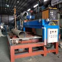 佛山荣高提供自动热喷涂设备 自动钢管灯架角钢表面热喷涂处理 自动热喷涂机