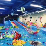斯黛尔恒温室内儿童水上乐园水上滑