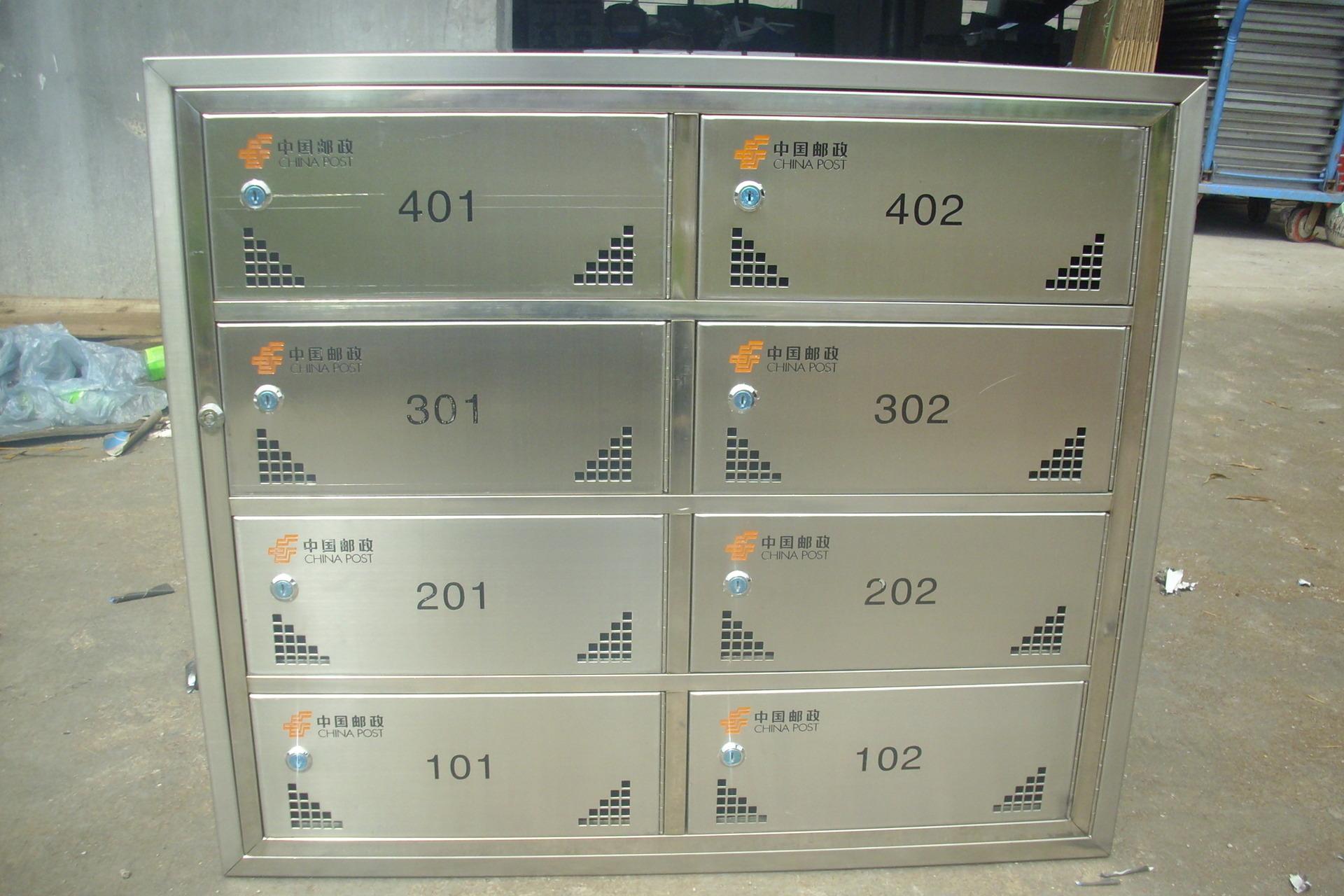 专业生产小区不锈钢信报箱_不锈钢信报箱生产厂家_201小区信报箱制作