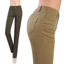 高品质女士裤 女装休闲裤子 修身显瘦弹性好 新款女装商务裤