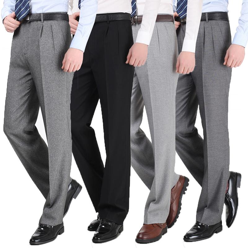 男款商务裤 修身型男款商务正装裤子 休闲职业西服裤直销批发