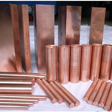 铜棒电力机械用高纯度紫铜棒厂家 铜棒