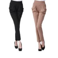 女款休闲裤图片