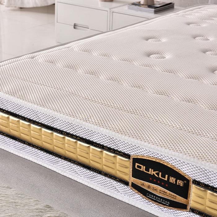 厂家批发天然乳胶床垫 厂家直销乳胶床垫 广东佛山床垫加工定做厂家 家用弹簧床垫 订做床垫 百年梦A