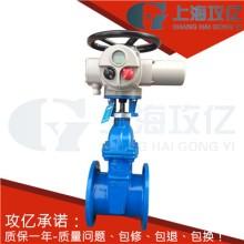 Z945X-16Q电动软密封闸阀 DN250橡胶密封铸铁闸阀