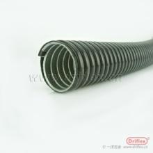 加厚镀锌钢带PE波浪管 低烟无卤阻燃包塑金属软管批发