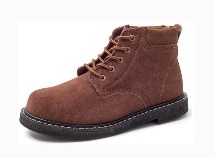 厂家批发轮胎底劳保鞋翻毛皮加厚底耐高温专用鞋1870 酒店厨房鞋防滑鞋