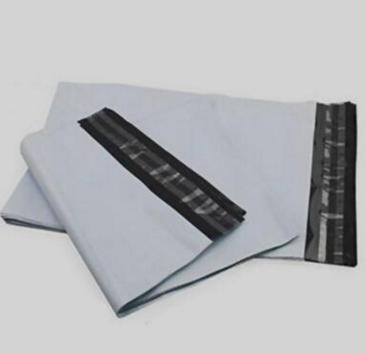 厂家直销黑白色包装袋物流快递 袋塑料袋支持包装袋定制定做