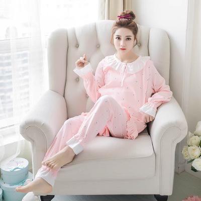 成都新款月子服直销 成都孕妇纯棉睡衣价格 成都产后韩版家居服批发商 成都家居服套装批发价