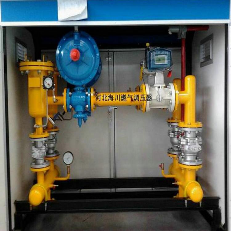 供应100A燃气调压器 燃气锅炉减压阀  燃气调压箱