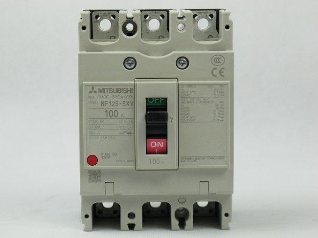 三菱断路器NV125-CW 80A 100A 125A、断路器、三菱断路器供应厂家、三菱断路器采购价格