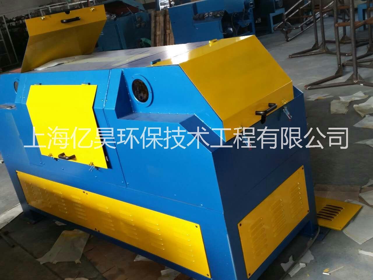 焊丝生产盘圆专用无酸洗砂带除锈机SD-55