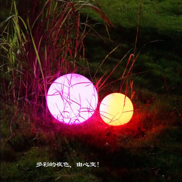 深圳海粒子太阳能草坪灯室外装饰照明灯具庭院灯草地灯围墙灯发光球加工
