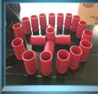 塑胶线束瓶电缆控制头|江苏哪里有红色塑胶瓶电缆控制电缆头供应商|控头线束电缆头套批发商