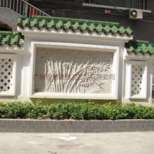 广东雕塑厂家 专业定做玻璃钢竹林仿砂岩浮雕 园林景观旅游文化装饰墙批发