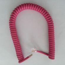 电话弹弓线听筒线连接线手柄线曲线电话弹簧听筒线连接线手柄线曲线批发