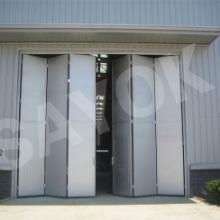 厂家批发电动折叠门、合肥折叠门、工厂折叠门、电厂折叠门,质量保证图片