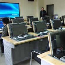 托克拉克供应电脑桌面翻转桌培训电脑桌高档培训会议室专用图片