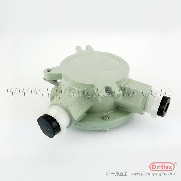 天津Driflex 三通线缆防爆接线盒铸铝接线盒