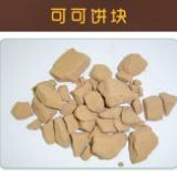 香味浓郁可可饼块产品 原料可可豆来自优质可可豆原地