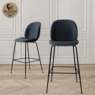 北欧设计师甲壳虫酒吧椅图片