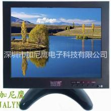 加尼鹰8寸工业监视器4比3屏幕台式高清VGA、BNC接口十字线分屏批发