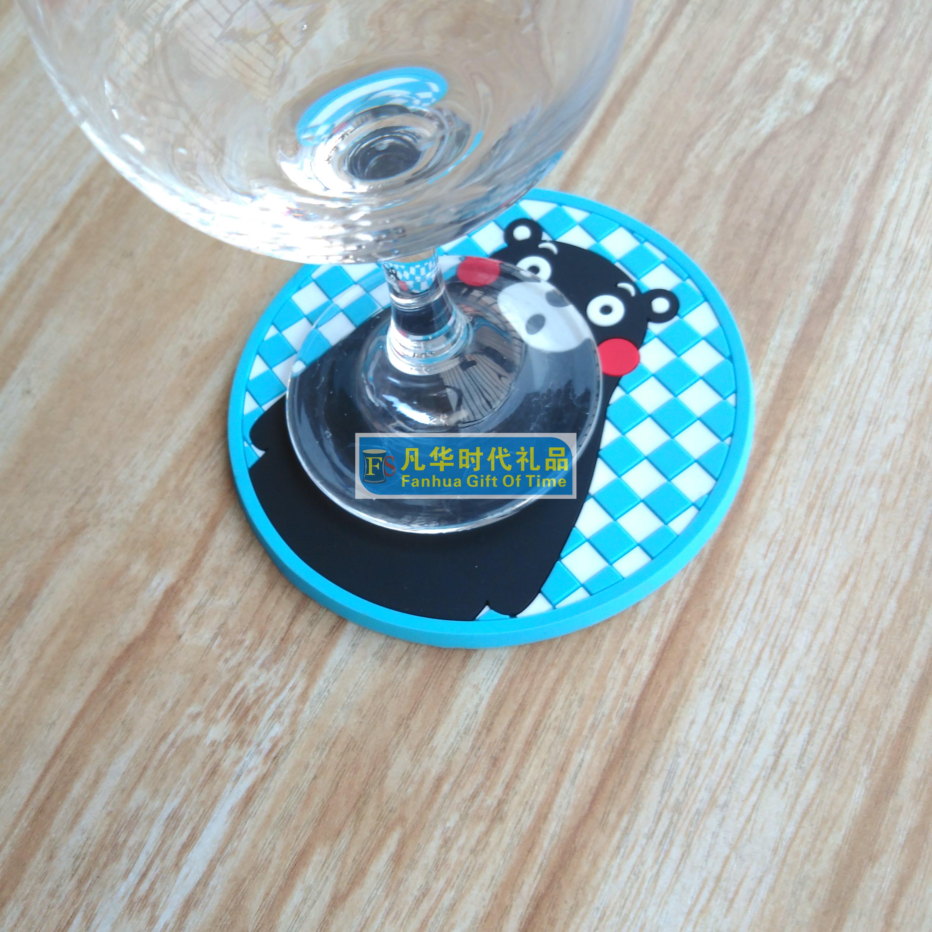 杯垫礼品厂家为您供应时尚创意广告礼品杯垫 塑胶杯垫 PVC杯垫