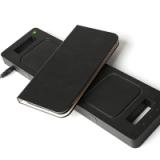 定制款iPhone X手机皮套 惠州手机皮套工厂iphoneX带插卡无线充苹果手机壳配件OEM加工