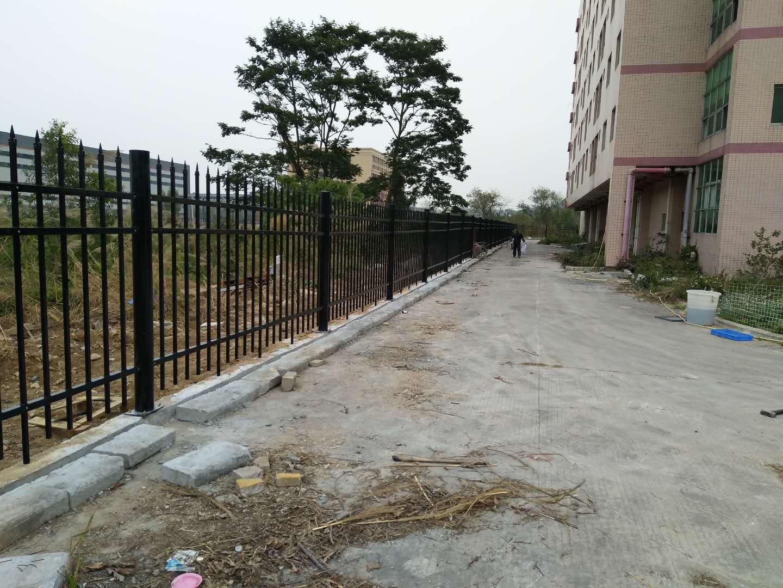锌钢围墙护栏锌钢围栏锌合金栏杆