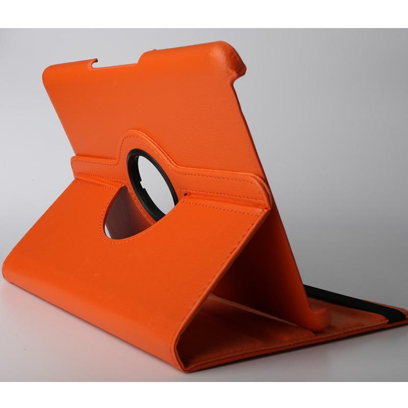 10.1寸平板电脑保护套 惠州平板电脑保护套厂家10.1寸360度旋转带支撑纯色仿皮加工定做