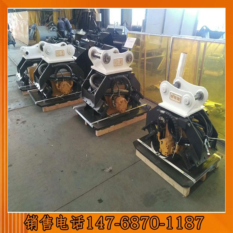 液压夯厂家 新疆地区挖机20吨液压夯厂家进口液压马达