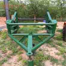 3吨液压式放线车/电缆线盘放线车/5吨线盘放线拖车批发