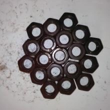 高强度螺母高强度六角螺母钢结构螺母反牙螺母反扣螺帽批发