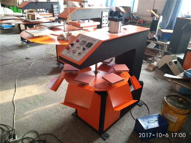 多工位气动烫画机气动烫唛印画机 六工位全自动热转印烫画机