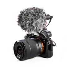 BOYA博雅BY-MM1摄像机DV单反相机录音话筒手机直播采访麦克风批发