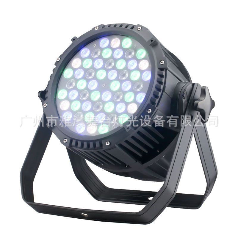 供应LED PAR64RGB LED染色灯|专业舞台/体育馆 54颗全彩防水LED帕灯