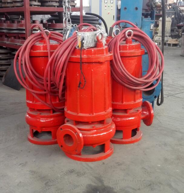 130℃高温排污泵/潜水式耐热电机