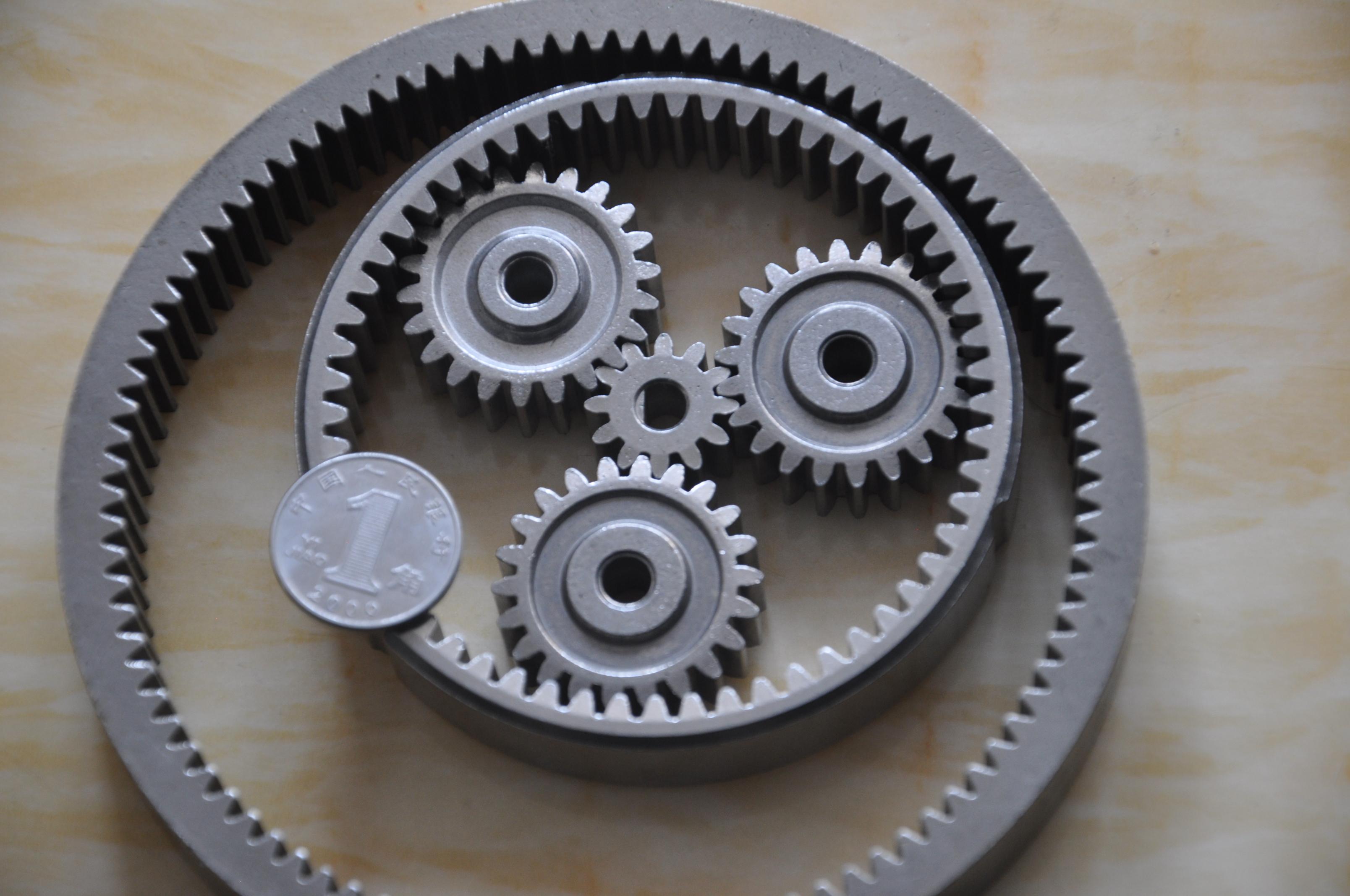 冶金齿轮厂家加工定做 行星减速齿轮