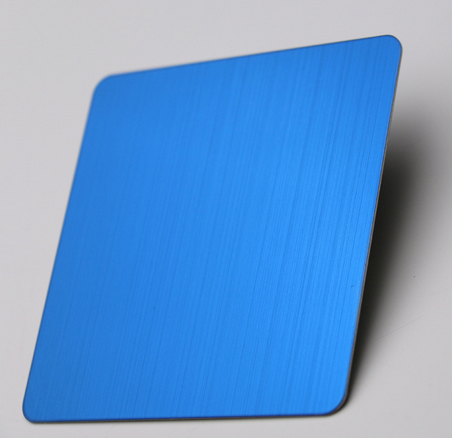 彩色拉丝不锈钢板供应商|佛山建筑装修镜面板|建筑装修彩色拉丝不锈钢板|佛山不锈钢板工程板