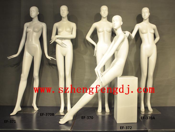 深圳展示模特道具 橱窗亮光模特 玻璃钢模特订做