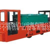 济宁腾信矿山设备厂家直供 8T防爆蓄电池电机车(双司室 可定制