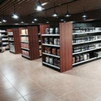 【货架】 钢木货架 超市货架