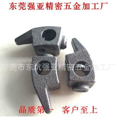 东莞工厂提供摩托车启动杆花键加工 拉刀加工 拉削加工 花键加工
