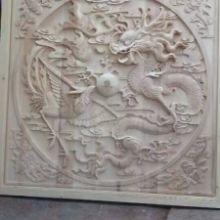 浮雕镂花挂件_福运_古韵色香_采用烘干楠木、橡木制作图片