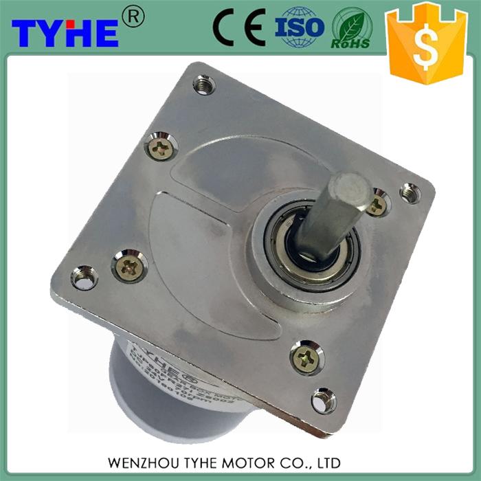 永磁60MM偏心方盖直流减速电机
